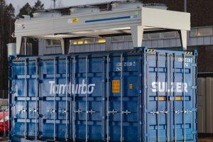 Tamturbo Modular Compressor Room with turbo compressor TT325 closed