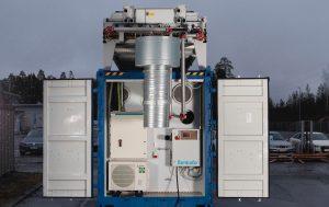 Tamturbo MCR Modular Compressor Room short end open