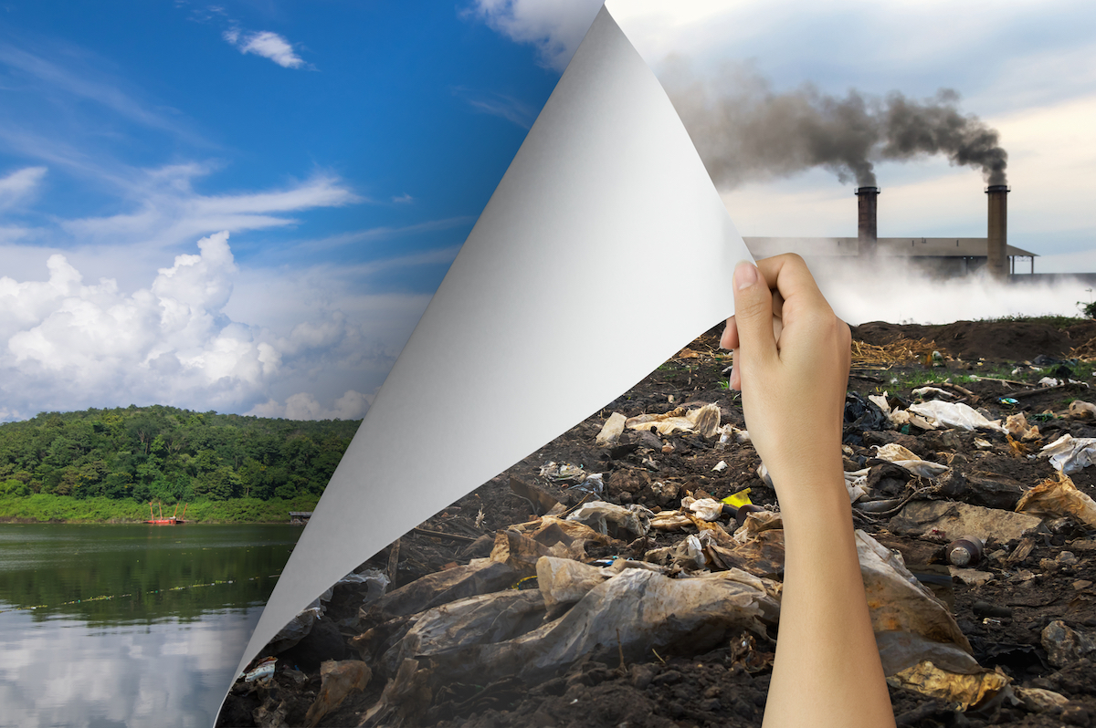 Environmental protection, sustainability, reducing carbon footprint