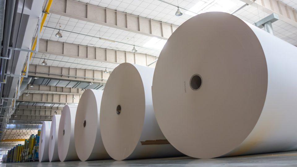 производство бумаги и картона с компрессорами Тамтурбо