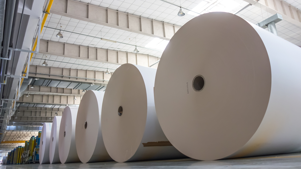 Paper industry requires oil-free compressed air