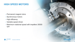 High-speed motor