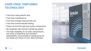 Care-Free Tamturbo technology