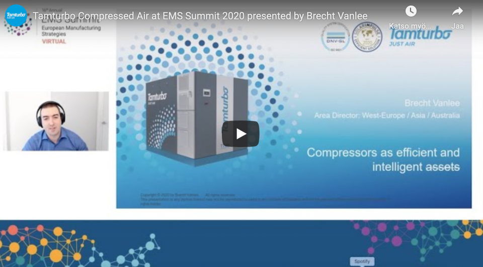 Tamturbo at EMS Virtual Summit 2020
