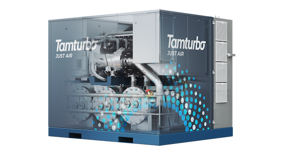 Tamturbo TT325 compressor pictured from the inside