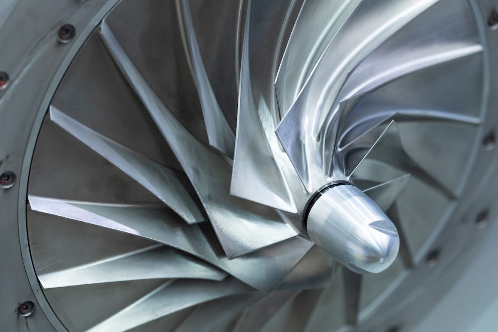 Impeller of Tamturbo turbo compressor