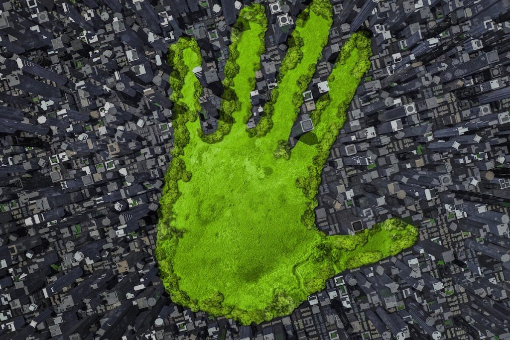 Tamturbo Carbon Handprint