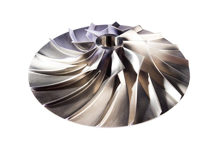 3d image of Tamturbo turbo compressor impeller
